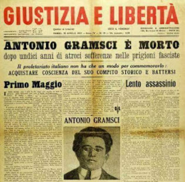 #AccaddeOggi 27 aprile 1937  Anniversario morte di  Antonio Gramsci