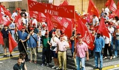 Fiom.Lo sciopero generale dei metalmeccanici del 28 gennaio 2011 ha visto grande partecipazione in tutte le piazze italiane.Landini,segretario generale della Fiom, ha chiesto alla Cgil di proclamare lo sciopero generale di tutte le categorie.