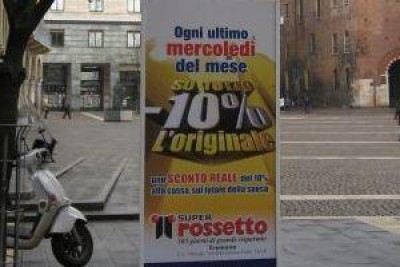 Cremona.I totem nella città ( di Luci)