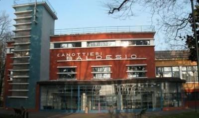 Cremona. La canottieri Baldesio esempio di architettura fascista nel periodo di Farinacci
