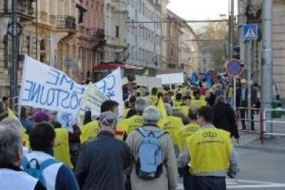 Slovacchia.Protesta contro il codice del lavoro