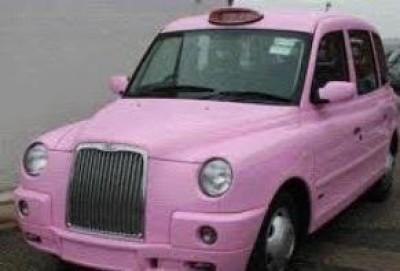 Taxi rosa a Cremona