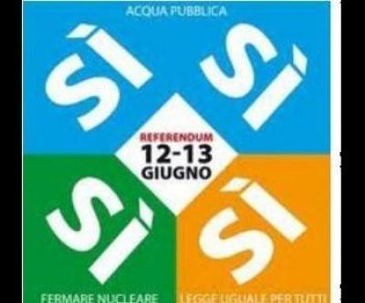 Referendum 12 e 13 Giugno-4 SI