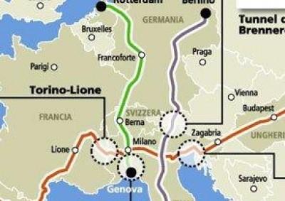 Genova, la lite sul terzo valico costa un miliardo