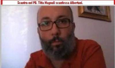 Scontro nel PD. Titta Magnoli sconfessa Albertoni.