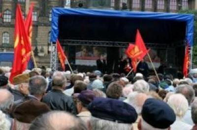 Rep.Ceca I partiti di sinistra hanno sempre il loro seguito