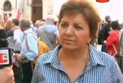 Carla Cantone ( SPI-CGIL) Manovra inaccettabile