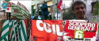 Palmieri (Cgil) Conferma lo sciopero di martedì 6 p.v.Ascolta..Ma la cgil è meno sola..