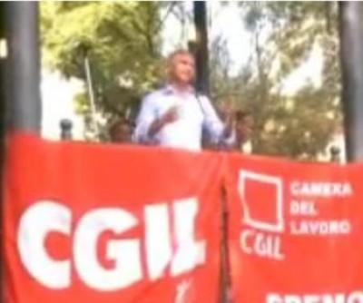 Claudio Silla - Intervento Sciopero Generale Cgil