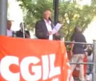 Agostino Tonarelli - Forum Terzo Settore - Sciopero CGIL 06/09/11
