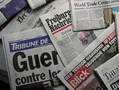 Nove svizzeri su 10 leggono regolarmente un quotidiano
