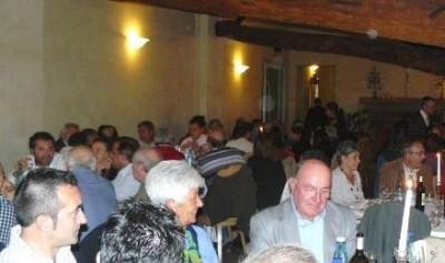 Cena dei volontari della Festa Democratica di Ombianello
