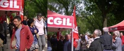 Cremona. Riusciti i presidi dei lavoratori durante lo sciopero generale della Cgil | Video
