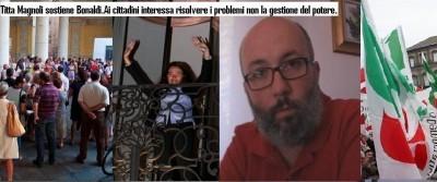 Titta Magnoli sostiene Stefania Bonaldi
