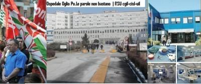 Ospedale Oglio Po.Le parole non bastano   RUS Cgil-Cisl-Uil