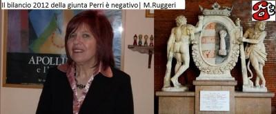 Il bilancio 2012 della Giunta Perri è negativo | M. Ruggeri ( telefonata)