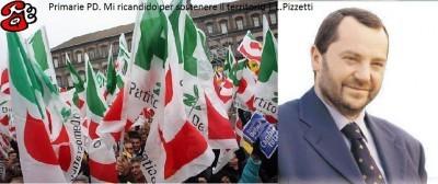Primarie PD. Mi ricandido per sostenere il territorio | L.Pizzetti ( telefonata)