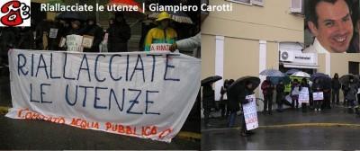 Riallacciare le utenze | G.Carotti  (telefonata)