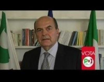 Bersani si rivolge agli italiani all'estero