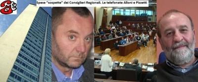 """Spese """"sospette"""" dei Consiglieri Regionali. Le telefonata con Alloni e Pizzetti"""