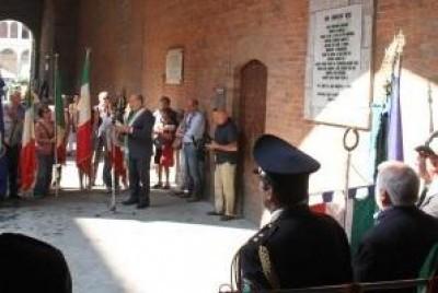 Cremona. COMMEMORATO IL 70à ANNIVERSARIO DELL'8 SETTEMBRE