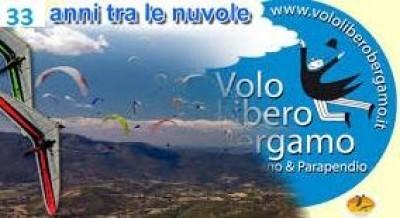 Domenica 15 settembre il Volo Libero Bergamo celebrerà il 33° anniversario.