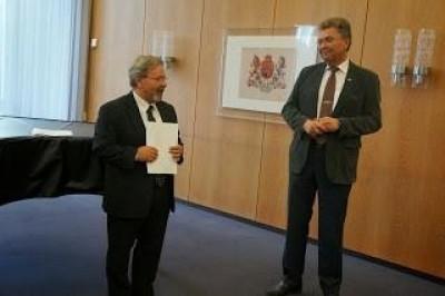 Giuseppe Scigliano interviene al Parlamento della Bassa Sassonia