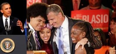 USA. Grande vittoria dei democratici Bill De Blasio vince a New York
