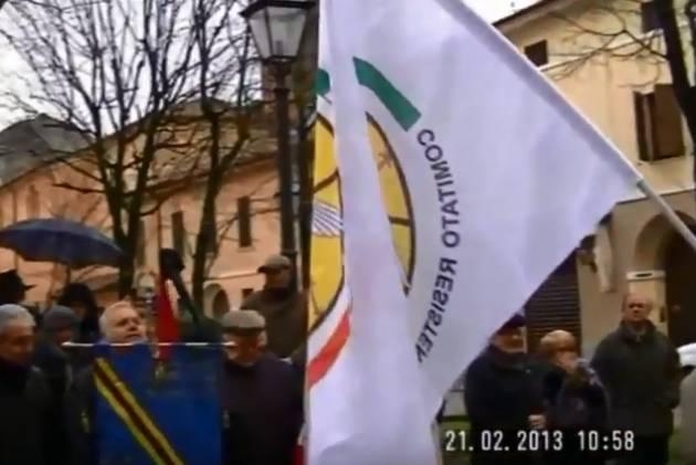 Accadde Oggi Cremona 18 febbraio 2013  Il partigiano  Kiro Fogliazza ci ha lasciato