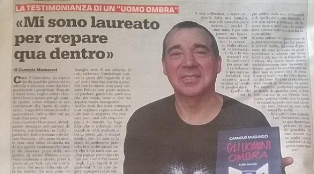 Storie di fine pena mai .Carmelo Musumenci (video)