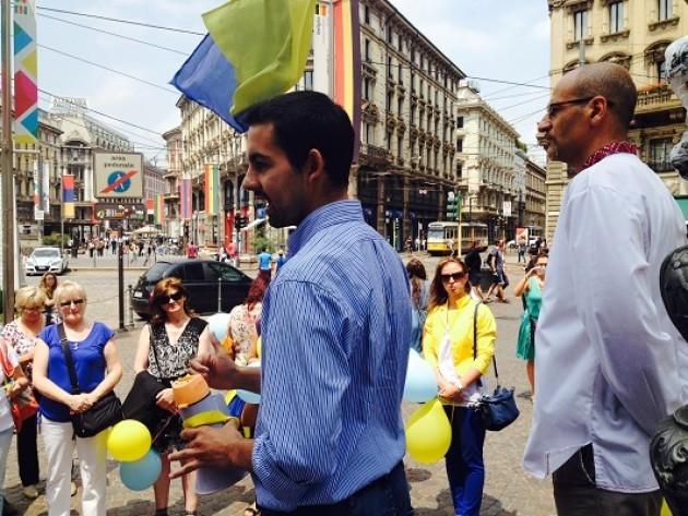 L'Associazione Maidan di Milano ha ospitato una delegazione di ragazzi ucraini.