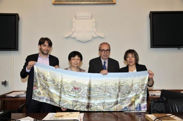 Milano: incontro con Shanghai su ambiente e gestione dei turisti di Expo
