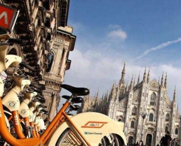 Milano Bike Sharing. Bikemi raggiunte le 200 stazioni