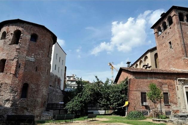 Milano Romana. Restaurate le due torri del Museo Archeologico.