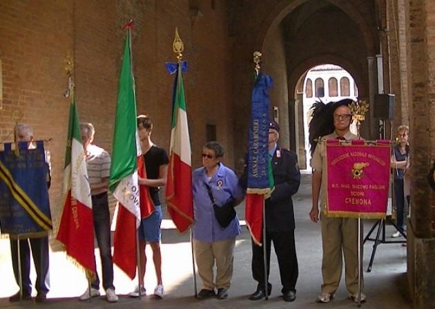 Cremona con Il sindaco Galimberti celebra l'anniversario dell'8 settembre 1943