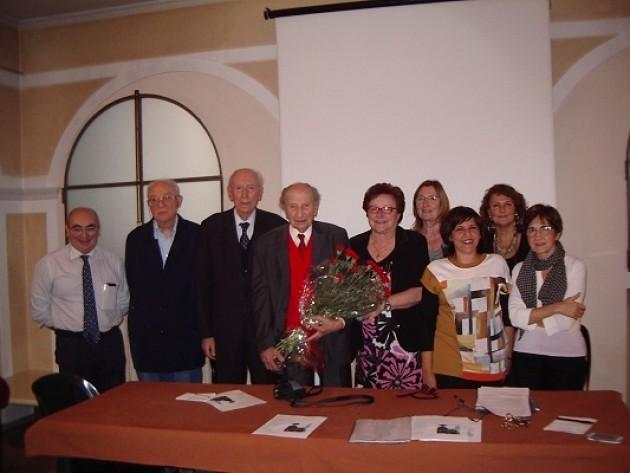 Mario Coppetti ha compiuto 101 anni. Gli auguri dell'Ass.Zanoni di Cremona
