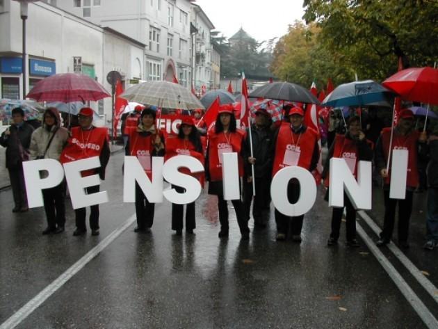 Il Pil cala. Caleranno anche le pensioni?