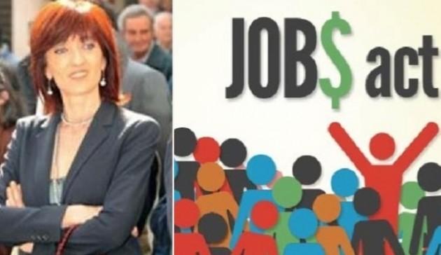 L'intervento in aula dell'On Cinzia Fontana  sul Jobs Act