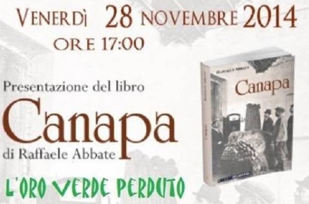 A Cremona Presentazione del libro Canapa di Raffaele Abbate