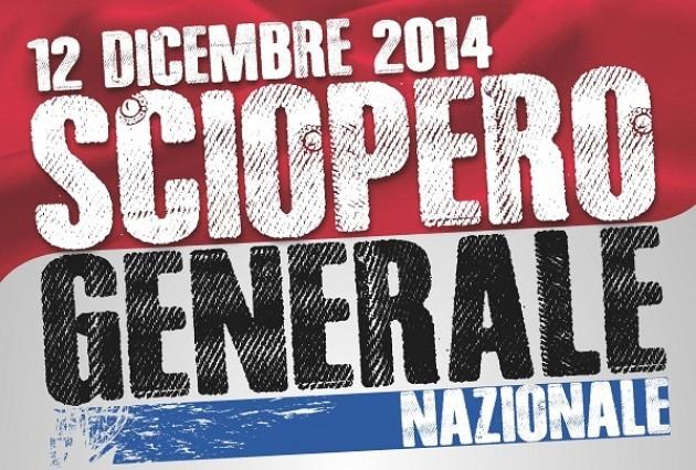 Uil Lo sciopero generale del 12 dicembre 2014 è confermato | Mino Grossi (audio)