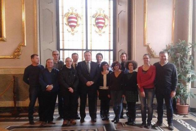 Una delegazione della città bosniaca Zavidovici in visita a Cremona