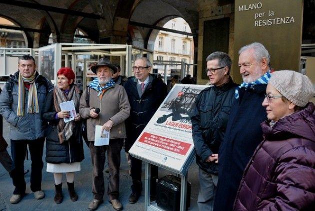 Milano. Danneggiata la mostra 'Lager Europa' di Francesco Pinzi