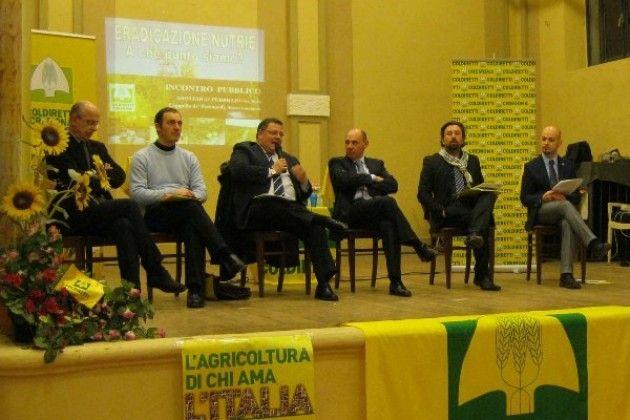 Coldiretti Cremona: 'Nutrie, la battaglia continua'