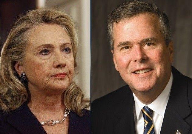 Politica USA: Hillary Clinton e Jeb Bush già pronti con gli staff