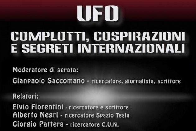 Gruppo UFO Cremona, il 7 marzo si parla di cospirazioni e segreti internazionali