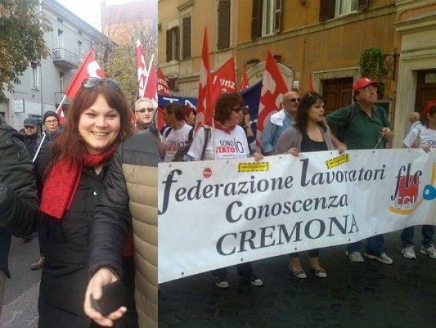 Elezioni RSU P.I. 3-4-5 marzo 2015. Le telefonate con Vangi (Fp-Cgil) e Valenti (Flc-Cgil) Cremona