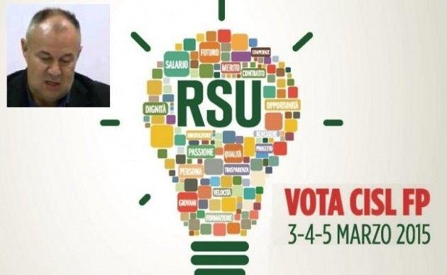 Elezioni RSU P.I. 3-4-5 marzo 2015. La telefonata  con Roberto Dusi (FP-Cisl Cremona/Asse del Po)