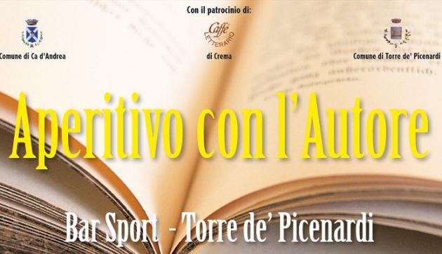 Programma delle quattro iniziative 'Aperitivo con l'Autore'. Torre de' Picenardi (CR).