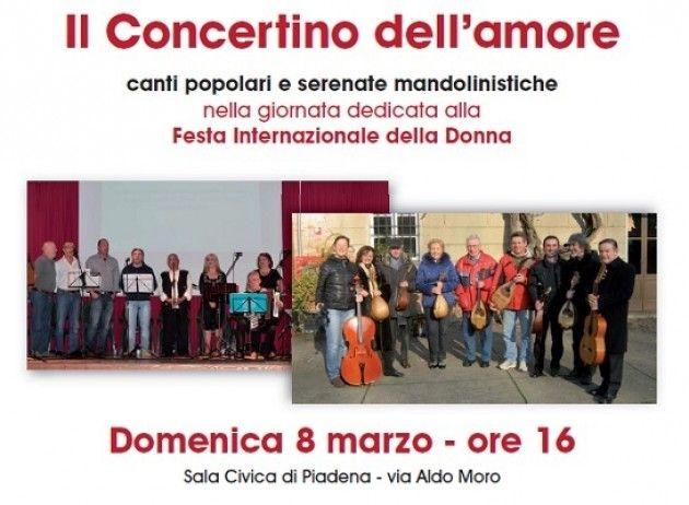 8 Marzo a Piadena: 'Il concertino dell'amore'