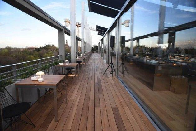 Pisapia terrazza triennale rinnovata un nuovo for Terrazza design